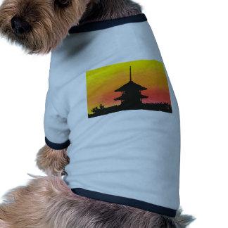 Building on Sunset Ringer Dog Shirt