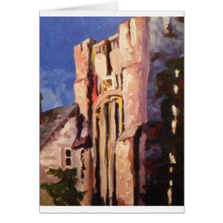 building painting card