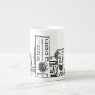 Building robots tea cup