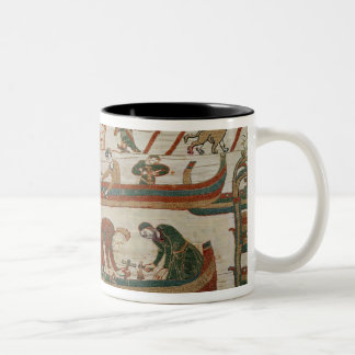Building ships under the orders of Duke Two-Tone Coffee Mug