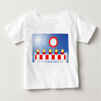 Building site closing and passage forbade Schil Baby T-Shirt