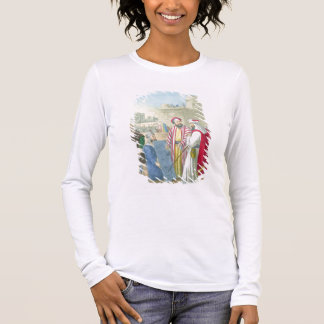 Building the City and the Tower of Babel, from a b Long Sleeve T-Shirt