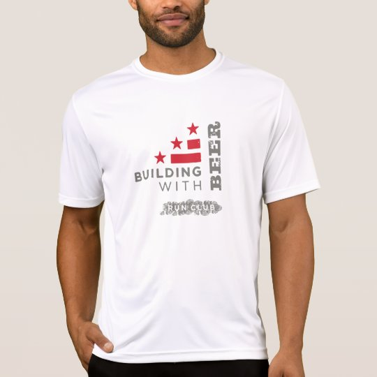 Building With Beer Running Shirt