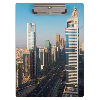 Buildings Along Sheikh Zayed Road, Dubai Clipboard