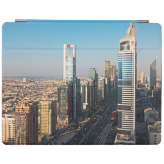 Buildings Along Sheikh Zayed Road, Dubai iPad Cover