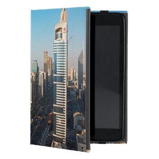 Buildings Along Sheikh Zayed Road, Dubai iPad Mini Cover