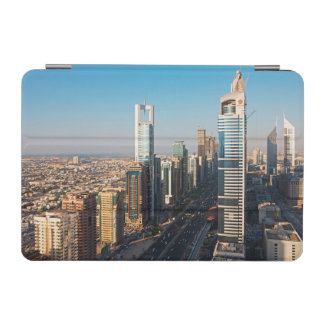 Buildings Along Sheikh Zayed Road, Dubai iPad Mini Cover