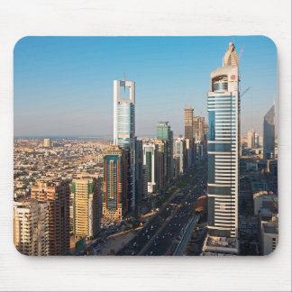 Buildings Along Sheikh Zayed Road, Dubai Mouse Mat