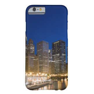 Buildings along the Chicago Riverfront at dusk. Barely There iPhone 6 Case