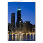 Buildings along the downtown Chicago lakefront 2 Greeting Card