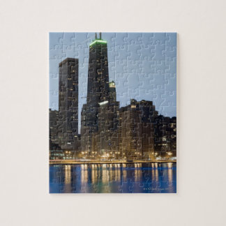 Buildings along the downtown Chicago lakefront Puzzles