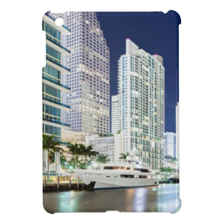 Buildings along the Miami River Riverwalk iPad Mini Cover