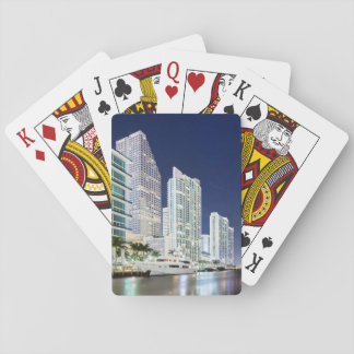 Buildings along the Miami River Riverwalk Playing Cards