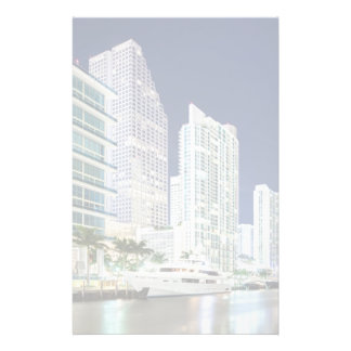 Buildings along the Miami River Riverwalk Stationery