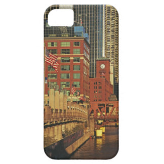 Buildings along the river in downtown Chicago, Barely There iPhone 5 Case