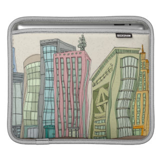 Buildings iPad Sleeve