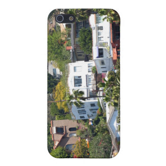 Buildings On The Mountain iPhone 5 Case