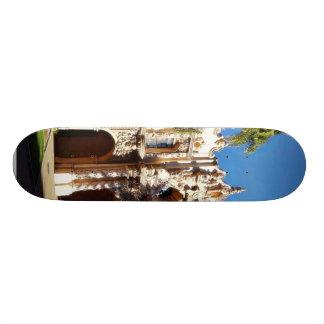 Buildings On The Prado In Balboa Park San Diego Skateboard Decks
