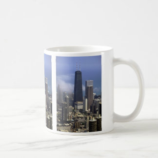 Buildings, view from top of Sears Tower, Chicago, Coffee Mug