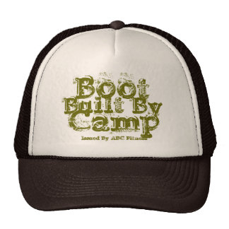 Built By Boot Camp Issued By ABC Fitness Trucker Hats
