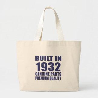 Built in 1932 jumbo tote bag