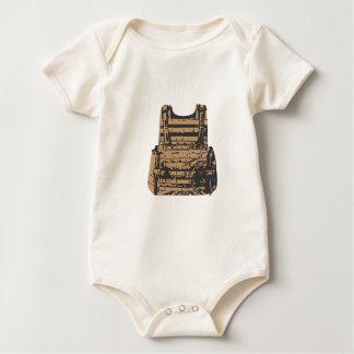 Built in Body Armour Baby Bodysuit