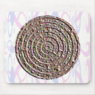 Built-in Chakra Healing Designs Mouse Pad