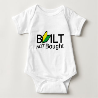 Built, not bought baby bodysuit