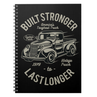 Built Stronger to Last Longer   USA Toughest Truck Notebook