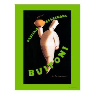 Buitoni Pasta Promotional Poster Postcard