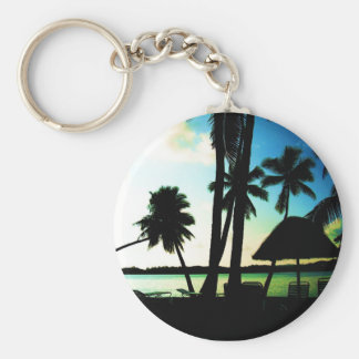 Bula! Fiji Basic Round Button Key Ring