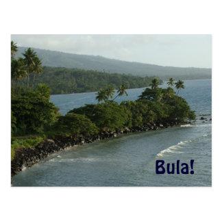 Bula From Fiji Postcard