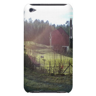 Bulding and sheep stor barely there iPod case