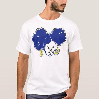 bule and gold afropuffs T-Shirt
