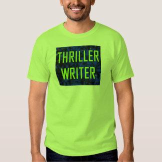 Bule and Green Thriller Writerr T-shirt