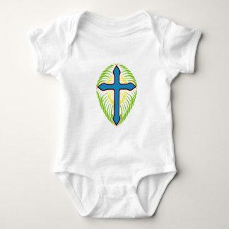 Bule Cross Tshirt
