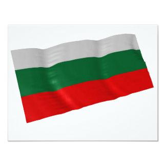 bulgaria 11 cm x 14 cm invitation card