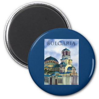 Bulgaria 6 Cm Round Magnet