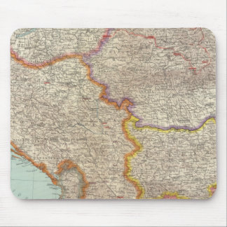 Bulgaria and Serbia Mouse Pad