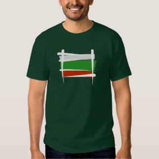 Bulgaria Brush Flag Shirt