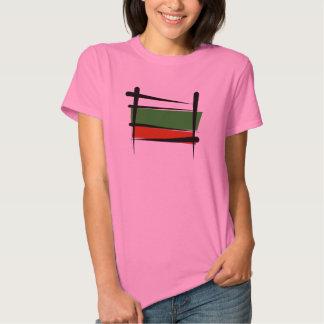 Bulgaria Brush Flag Shirts