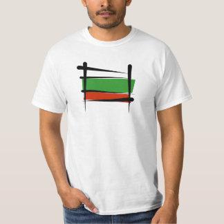 Bulgaria Brush Flag T Shirt