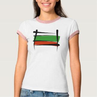 Bulgaria Brush Flag T-Shirt