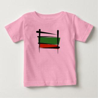 Bulgaria Brush Flag T Shirts