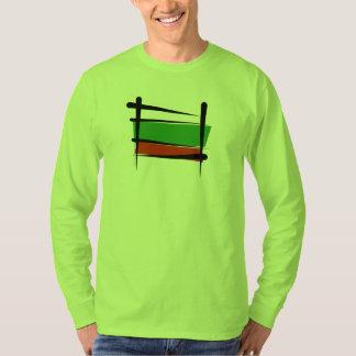 Bulgaria Brush Flag Tees