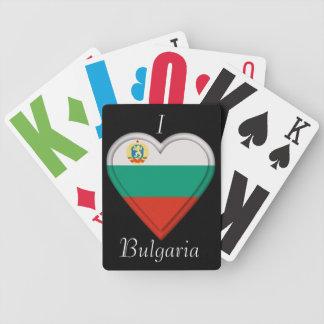 Bulgaria Bulgarian flag Bicycle Playing Cards