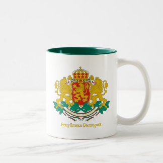 Bulgaria COA Two-Tone Coffee Mug