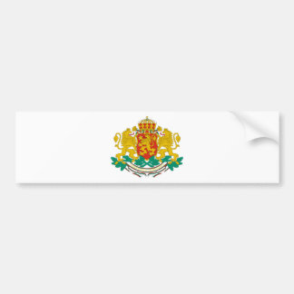 Bulgaria Coat of arms BG Bumper Sticker