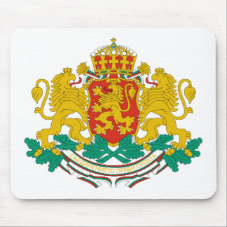 Bulgaria Coat of arms BG Mousemat