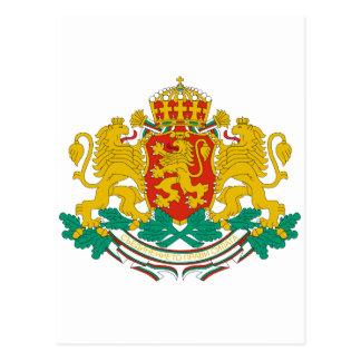 Bulgaria Coat of arms BG Postcard